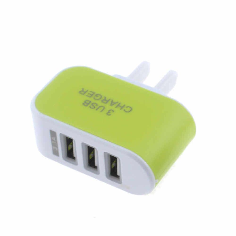 HIPERDEAL listwa zasilająca z ochroną przeciwprzepięciową USB 3 wylot 3 USB ładowarka sieciowa ładowania wieża Dropship C0309