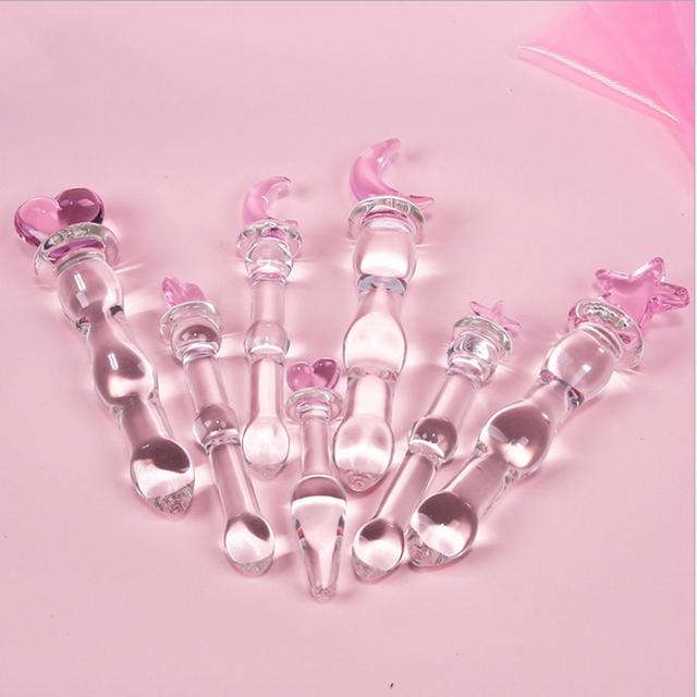 Crystal Glass Dildo (7 types)