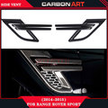 for range rover sport 2014 2015 carbon fiber fibre side fender Vent Blades air vent panel