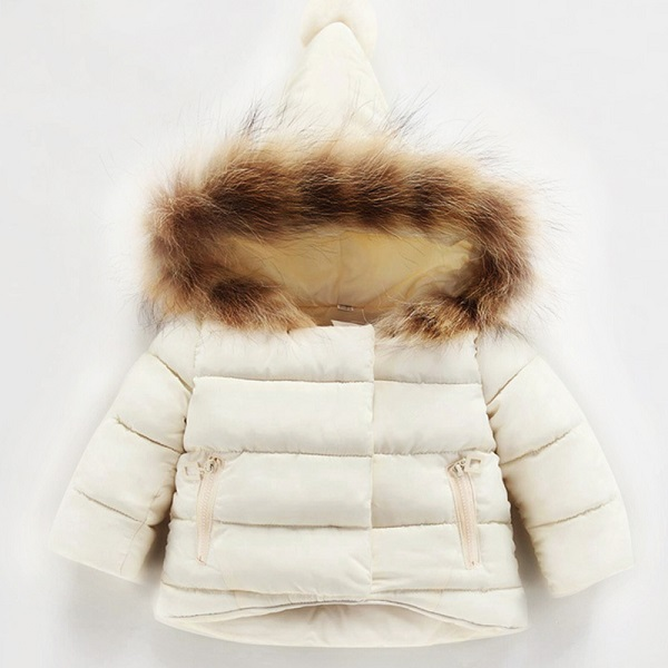 6ad2bc07f Winter Jackets for girls Warm Coat Kids Clothes Snowsuit Outerwear & Coats  Children Clothing Baby Fur