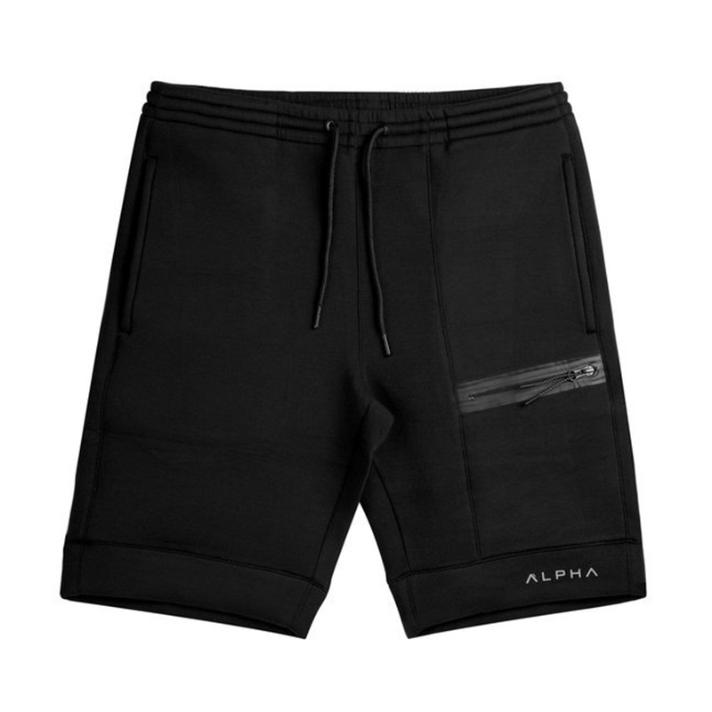 2018 New Men Cotton Shorts Calf-Length Gyms Fitness Bodybuilding Fashion Casual Workout Brand Short Pants Male Jogger Sweatpants