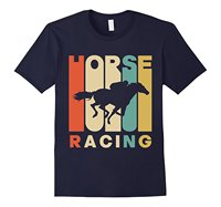 Vintage Style Horse Racings Silhouette T Shirt Men Brand Clothihng Top Quality Fashion Mens T Shirt