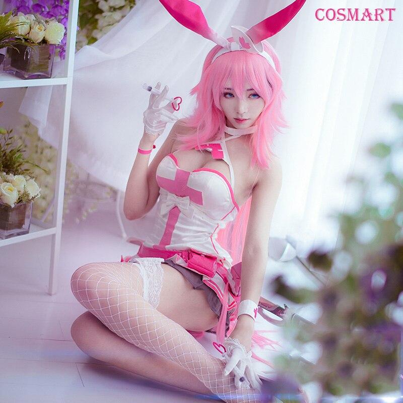 Аниме Honkai влияние 3rd Yae Сакура косплэй костюм Банни девушка сексуальное боди мечта Cherry Бесплатная доставка