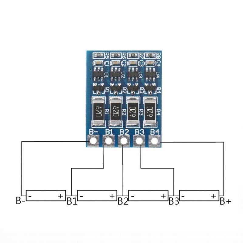 4S 4.2v li-ion balancer board li-ion balncing full charge battery balance board Drop shipping