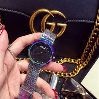 2018 New Arrival Women Watch!Luxury Fashion Crystal Women Bracelet Watch Female Dress Watch Ladies Rhinestone Wristwatches