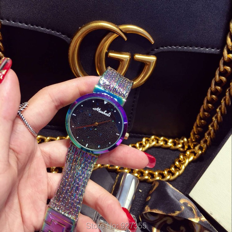 2019 New Arrival Women Watch!Luxury Fashion Crystal Women Bracelet Watch Female Dress Watch Ladies Rhinestone Wristwatches
