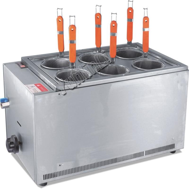 EH-706 газ печи рабочего стола приготовления Бизнес Использования лапши суп печи нержавеющая сталь плита Кулинария печи