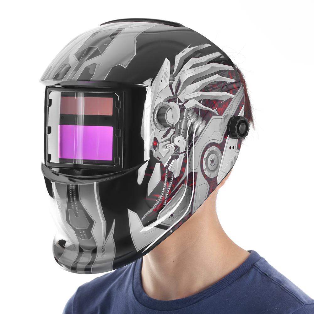Mask Chameleon - maximum convenience for welding work