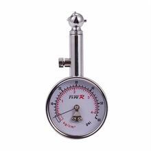 Car Tire Pressure Gauge Stainless Steel Automobile Accessories Tyre Air Pressure Gauges