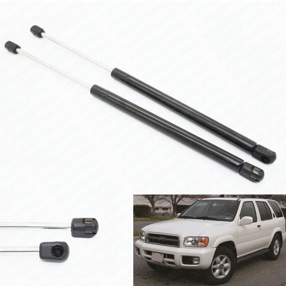 2pcs auto rear window gas struts shock struts lift supports fit for infiniti qx4 1999
