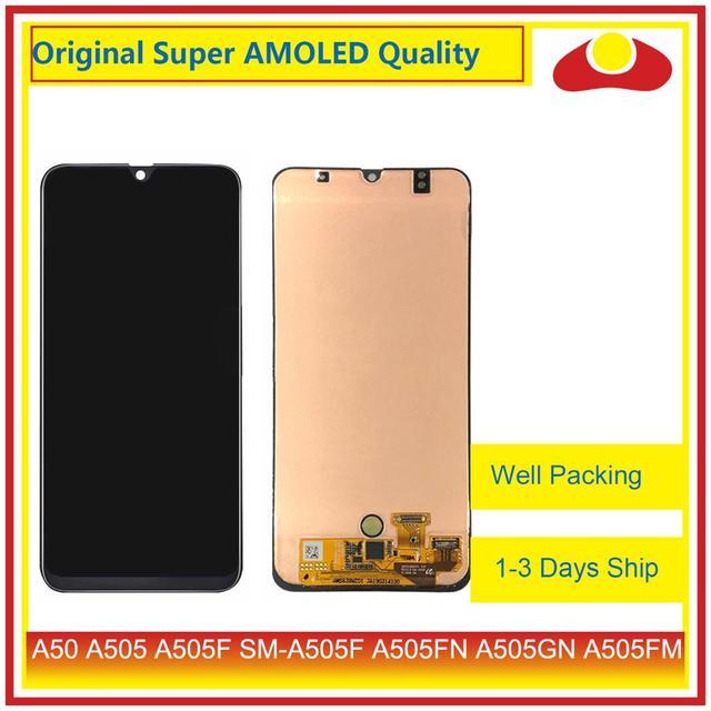 Pantalla LCD Original para Samsung Galaxy A50, A505, A505F, SM A505F, con Panel digitalizador de Pantalla táctil completa