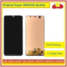מקורי עבור Samsung Galaxy A50 A505 A505F SM A505F LCD תצוגה עם מסך מגע Digitizer פנל Pantalla מלא