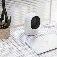 220V Mini Electric Portable Electric Fan Heater Energy Saving Fast Heating Head Shaking Fan Heater EU