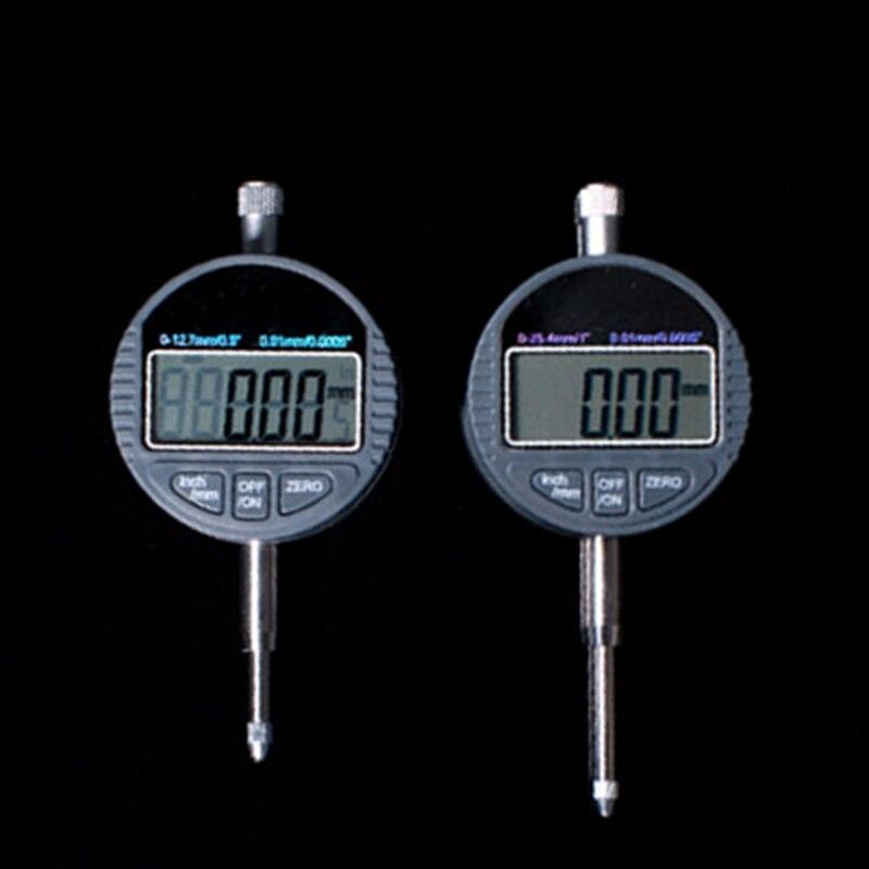 MX-DEMEL 0.01mm Micrometro Elettronico Digitale Micrometro Metrico/Pollici Gamma 0-12.7mm Dial Indicator Gauge Con Il Cappello