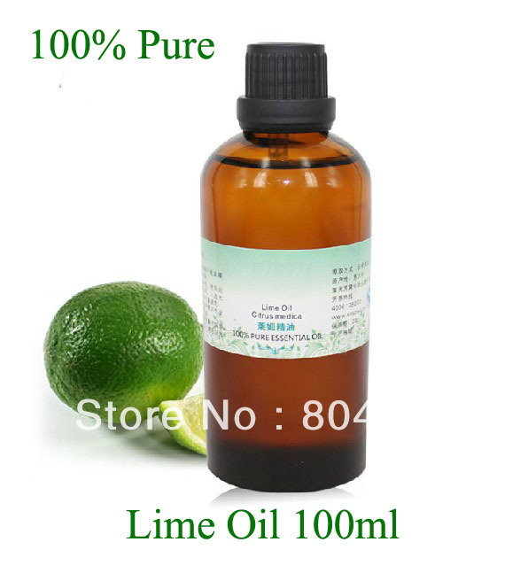 100% Pure Essential Lime Oil 100ml Natural oil creativity essential oil blend true botanical 100% pure and natural undiluted high quality therapeutic grade blend of rosemary clary sage hyssop marjoram cinnamon 5 ml