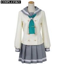 LoveLive! el sol!! Uniforme Escolar marinero Vestido de Cosplay del Anime