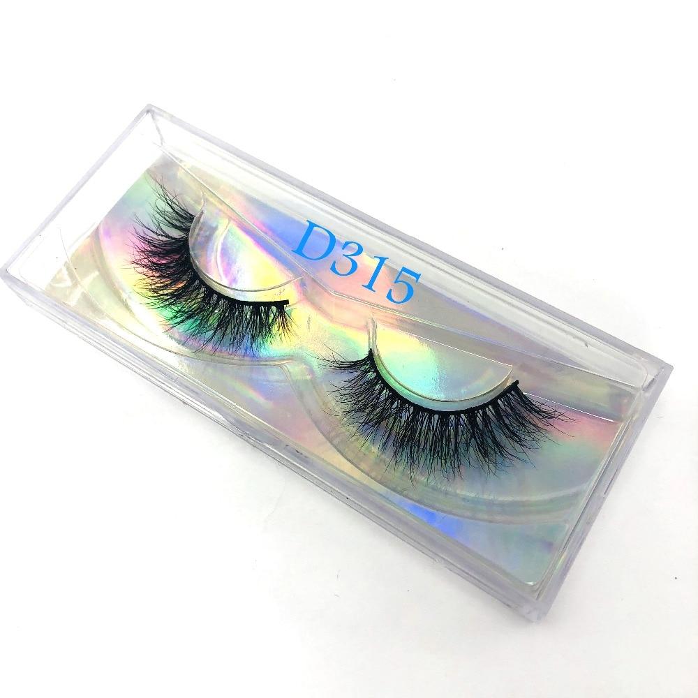 Hot Selling False Mink Eyelashes 3D Mink Lashes Handmade Dramatic Lashes Custom Logo Label Lashes