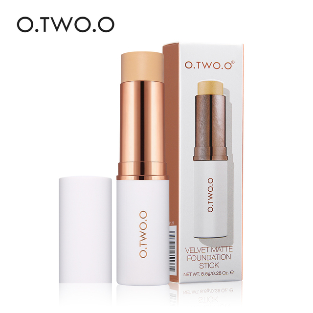 O.TWO.O Face Foundation Stick Makeup Matte Effect 6 Color Waterproof Long Lasting Concealer Face Contour Cosmetic 4
