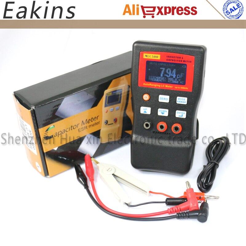 MLC500 LR mesure automatique de la capacité et de l'inductance de la gamme, mesure d'oscillation LC/RC pour les tests de composants - 6