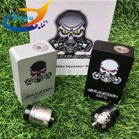 Armageddon Squonker BF Mod Box Kit Apocalypse bottom oil box set 18650 battery 6ml capacity kit with 510 Thread Apocalypse RDA