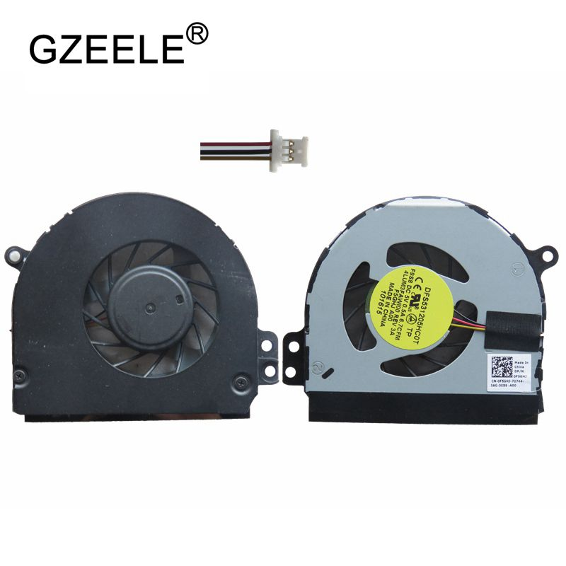 GZEELE NEW cpu cooling fan for DELL for inspiron 1464 N4010 1564 1764 P08F P09G 13R 14R Series Notebook Replacement Fan Cooler  GZEELE NEW cpu cooling fan for DELL for inspiron 1464 N4010 1564 1764 P08F P09G 13R 14R Series Notebook Replacement Fan Cooler