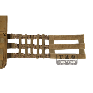 Image 5 - Gilet tactique ajustable et MOLLE, porte plaques ajustable, gilet Airsoft modulaire à dégagement rapide