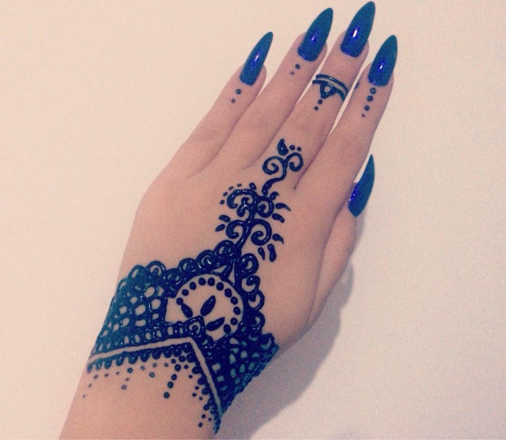9 Color Choose Indian Henna Tattoo Paste Women Makeup Mehndi Body