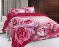 BEST.WENSD luxury 3d Wedding decorative fashion Modern style bedding set Princess Bed Jacquard quilt cover+BedSheet+pillowcase