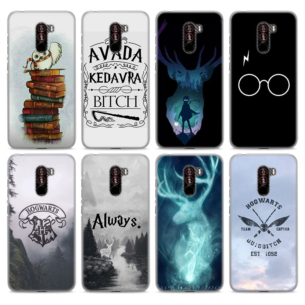 Always Harry Potter Pattern Hard Transparent Case For POCOPHONE F1 Cover For Xiaomi Redmi S2 6 6A 6Pro/A2 Lite 5 Plus 5A