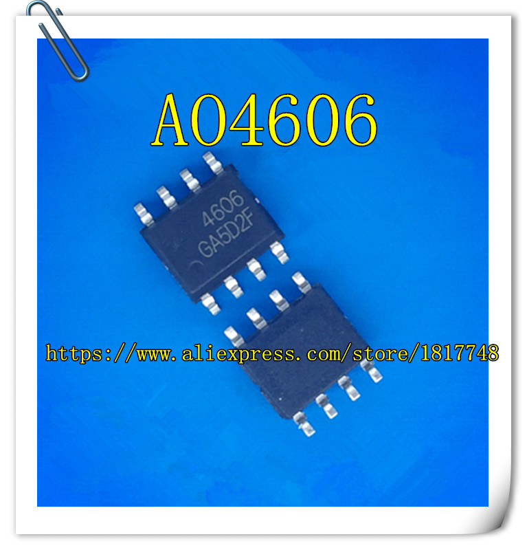 20pcs New AO4606 AO 4606 MOSFET SOP-8 NEW
