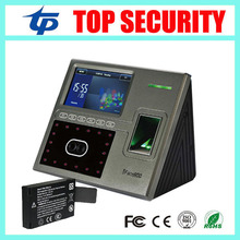 ZK TCP/IP USB 1200 users iface800 face recognition time attendance access control with back up battery optional WIFI and GPRS