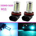 2x 8000K Ice Blue 33SMD-5630 H11 Fog Driving LED Bulbs Lamp Fog light