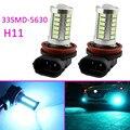 2x8000 K Azul Gelo 33SMD-5630 H11 Fog Driving Lâmpadas LED Lâmpada luz de Neblina