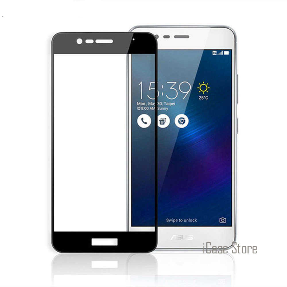 3 Max ZC520TL 5.2inch Case 9H Full Cover Tempered Glass For Asus Zenfone 3 Max ZC520TL 5.2inch X008D Screen Protector Case Film