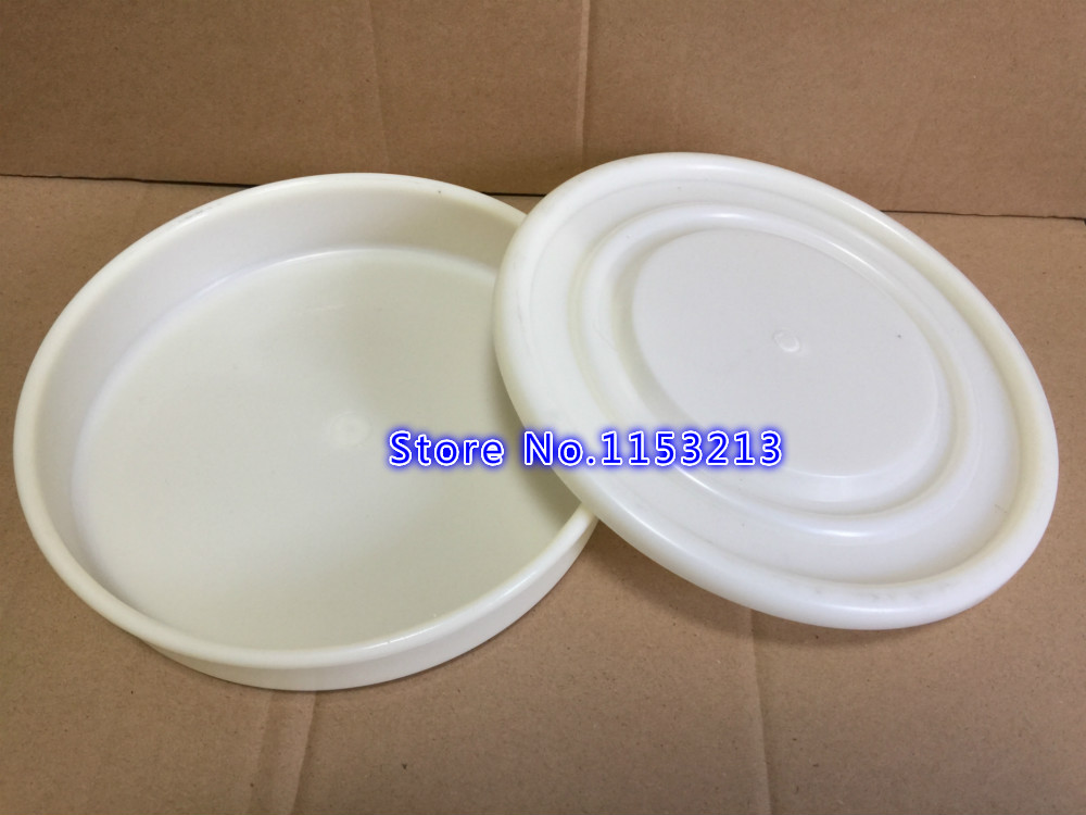 Pan Diameter 20cm PVC lid and bottom container for Standard Laboratory Test Sieve PVC Sampling Inspection Pharmacopeia sieve