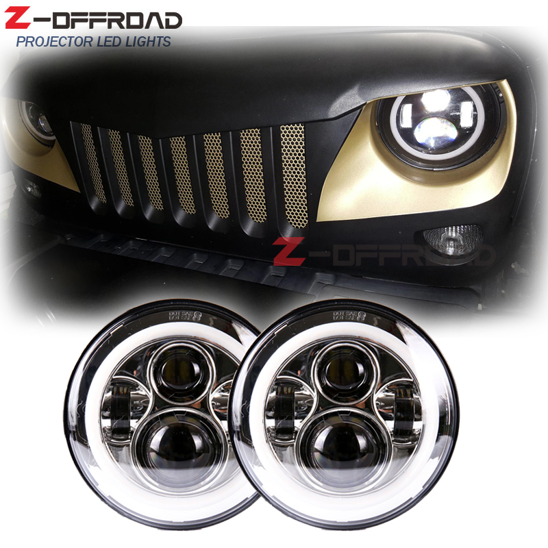 Us 71 95 11 Off For Jeep Wrangler Tj Headlamp Replacement 7