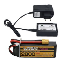 VOK power lipo battery 11.1v 2800mAh 35C 3S XT60 rc helicopter rc car rc boat quadcopter remote control toys Li-Polymer battery