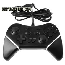 XINYUANSHUNTONG Game Gamepad Black Wired Pro Controller GamePad for Nintendo Switch Console FOR PC Computer
