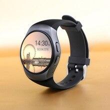 Kw18 Smart Uhr Mit Sim Einbauschlitz Push-nachricht Bluetooth-konnektivität Android Telefon Besser Als DZ09 GT08 Smartwatch