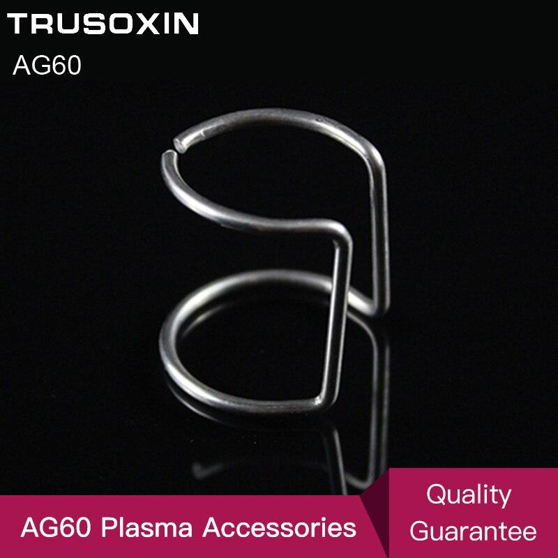 Novo 8 pces ag60 guia anel/ag60 plasma cortador acessórios e guia ligação de ag60 plasma cortador tocha/ferramentas de soldagem