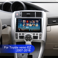 Android 6.1 ROM32GB Car Radio GPS Navigation Central Multimedia for Toyota Verso EZ 2007 2016 Phonebook Bluetooth Handsfree