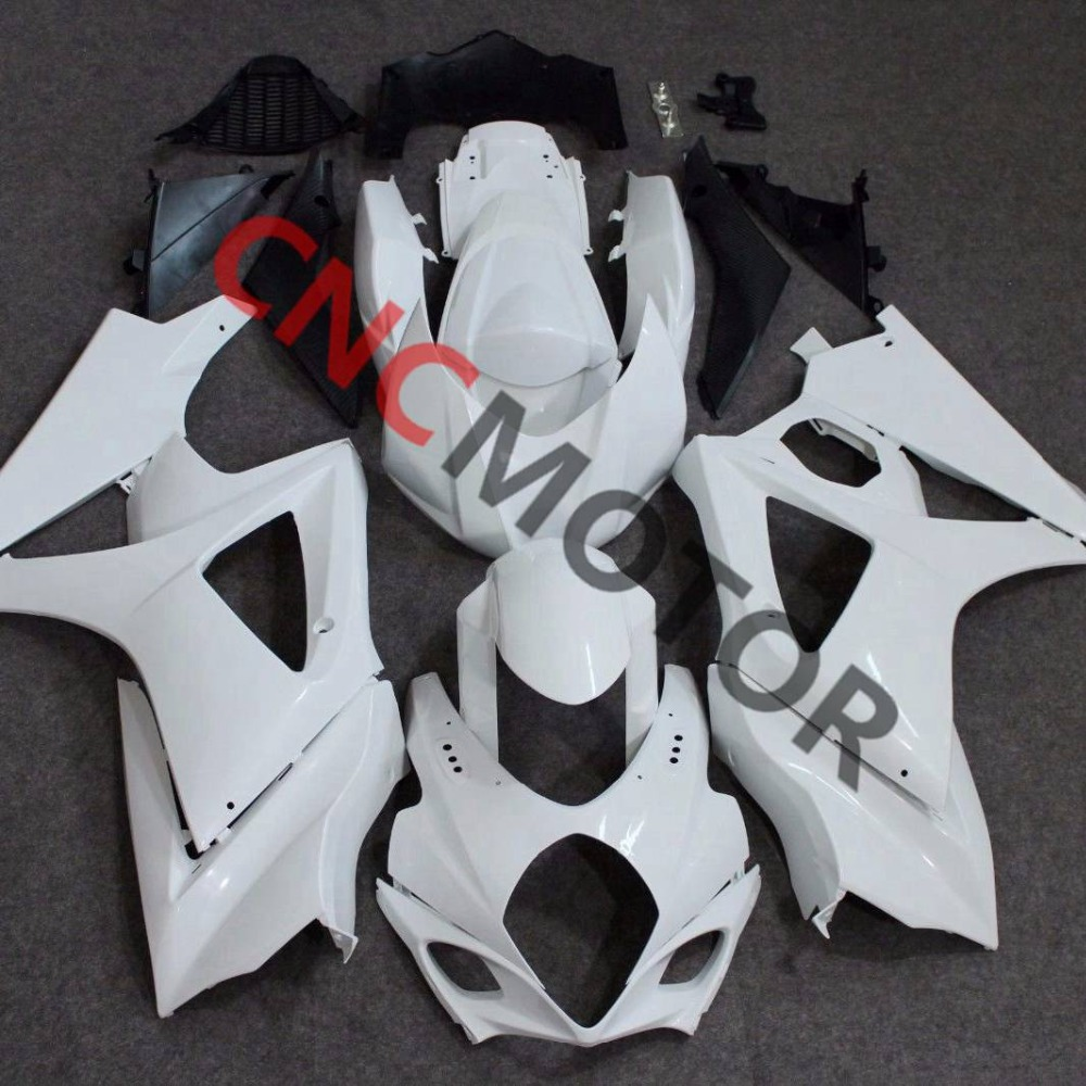 Individual ABS Plastic Parts Fairing kit Front. Side. Tank Cover. Tail Fairings For Suzuki GSX R1000 GSXR1000 K7 2007 2008