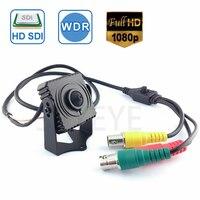 1080P SDI Cctv Camera 1/3 inch Progressive Scan 2.1 Mega Pixel Panasonic CMOS Sensor Mini SDI Camera HD SDI CCTV Camera Pin Hole