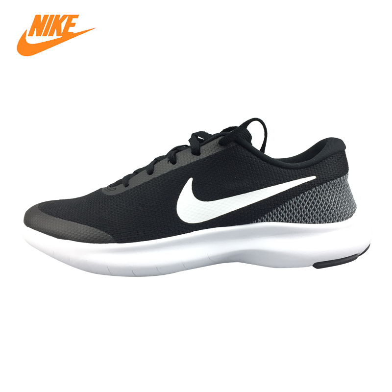 Nike FLEX EXPERIENCE RN 7 Men's Running Shoes,Black & White/Black, Lightweight Shock Absorption Breathable 908985 001 908985 002 пила торцовочная победа пт 200 1375