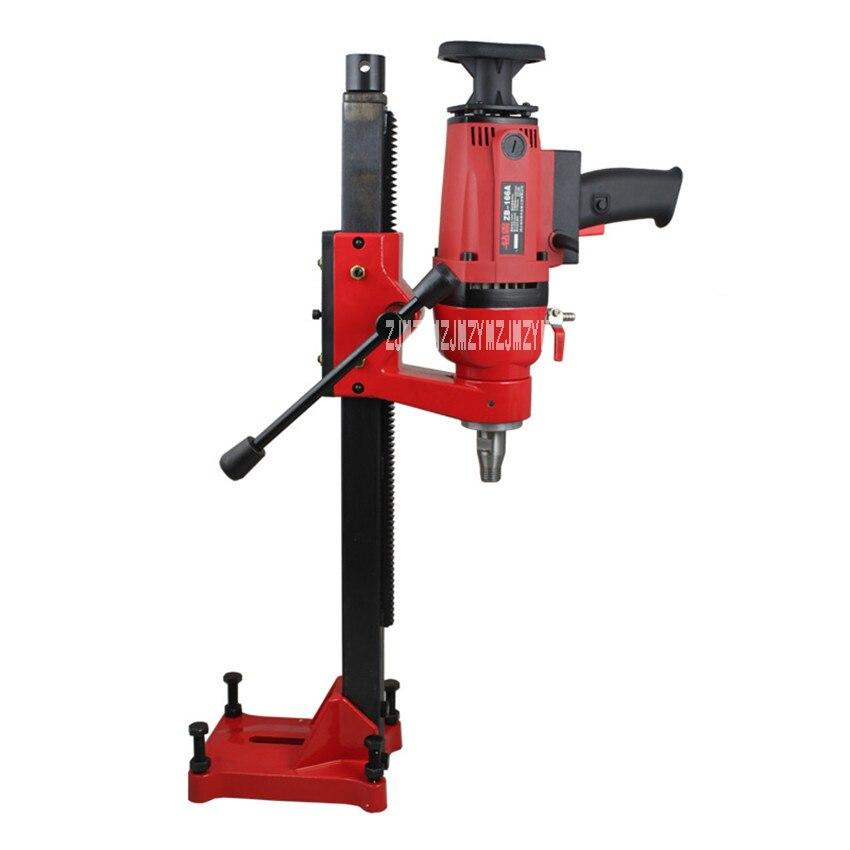 цена на ZB-166A Dual-purpose Core Drill Machine for Wet Drilling Concrete Complex of HandHeld And Desktop Machine 220v 50HZ 1900W 166MM