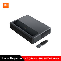 2019 Xiaomi Mijia Laser Projector Projection TV Full HD 4K Home Theater Android 6.0 5000lumens Wifi BT 2G RAM 16G 3D Projector