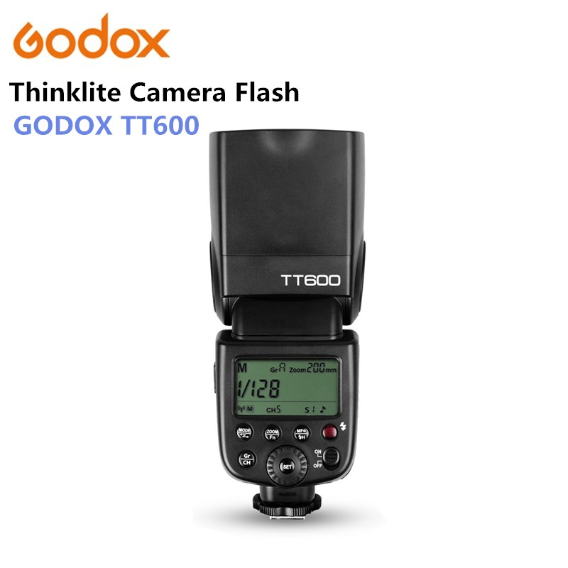 Godox TT600 2.4G Wireless GN60 Master/Slave Camera Flash Speedlite for Canon Nikon Pentax Olympus Fujifilm godox tt600 2 4g wireless camera flash speedlite for canon nikon pentax olympus fujifilm panasonic