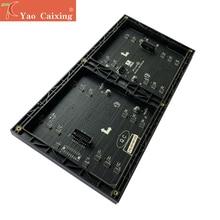 Livraison gratuite ali express P5 intérieur xxx smd2121 noir led module matrice rvb polychrome 64x32 pixels panneau