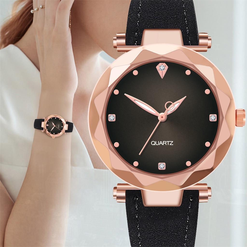 Fashion Women Female Quartz Watches Ladies Luxury Stainless Steel Dial Watch Casual Bracelet Wristwatch Thanksgiving Gift