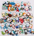 Anime Dos Desenhos Animados Doraemon Bonito Mini Figura Brinquedos 50 pcs 1.5-3 cm estilo diferente Mini Doraemon brinquedos ordens Mistas frete grátis